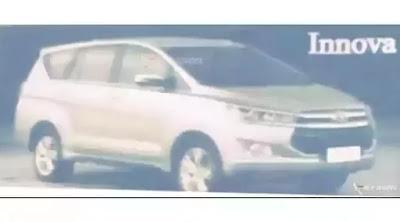 Tampang Kijang Innova Terbaru 2016 Telah Bocor