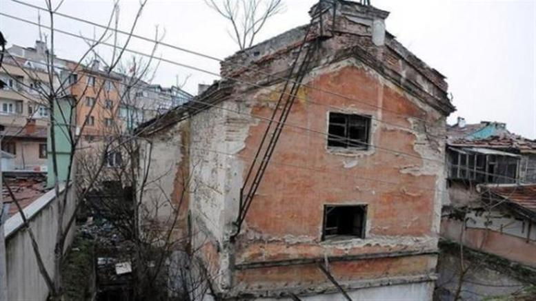 Historic Greek church in NW Turkey for sale on Internet