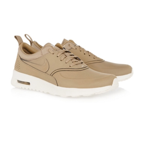 nike air max thea leather sneakers tan. Black Bedroom Furniture Sets. Home Design Ideas