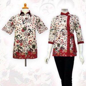 Collection Shafa batik qu TERBARU BATIK BLOUSE