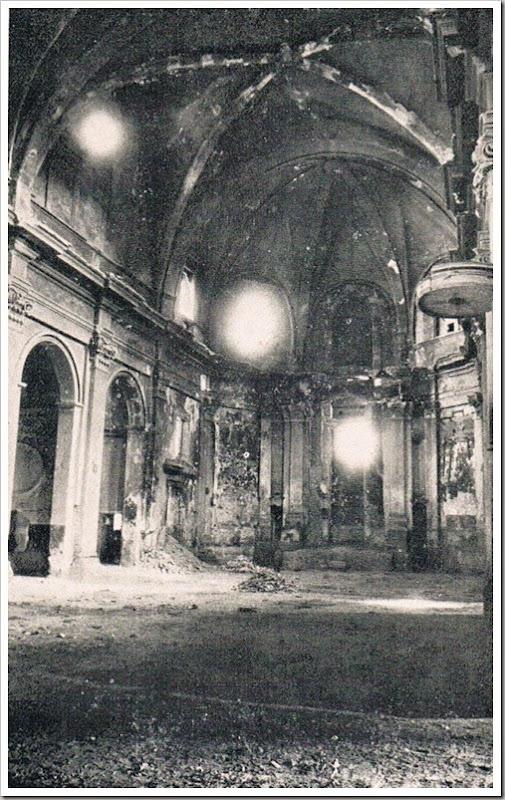 1936 interior de la iglesia de san agustin