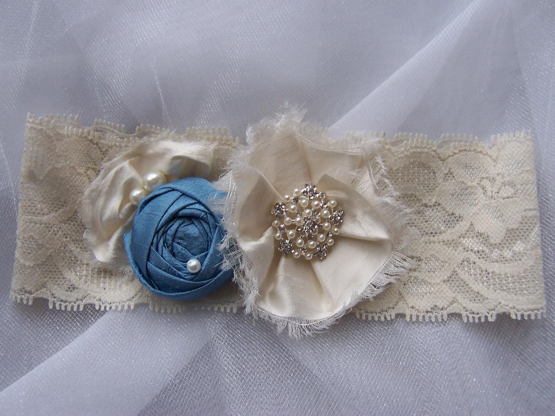 Silk Bridal Garter Set,