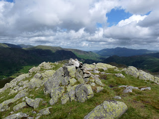 Bessyboot (AW's Rosthwaite Fell Summit) to Borrowdale