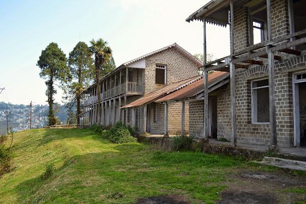 дарджилинг заброшенная гостиница здание