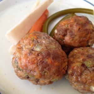 Sweet Potato Molasses Meatballs