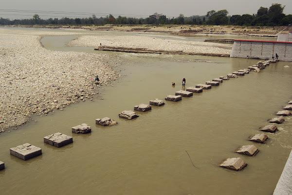граница индия непал банбаса дамба