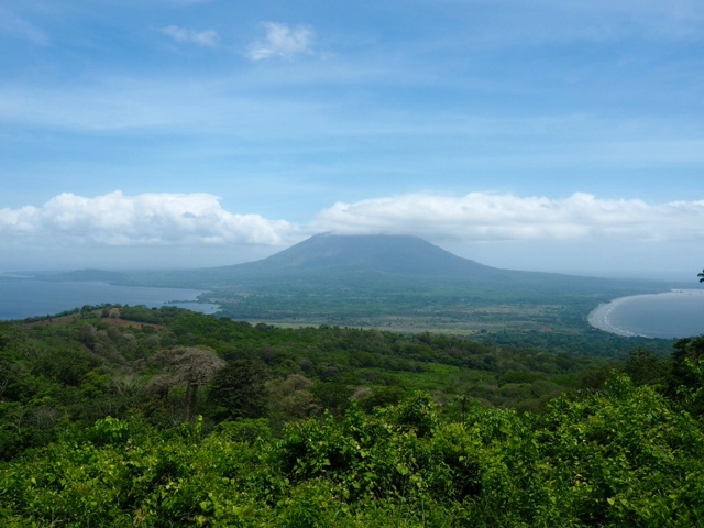 Concepcion volcano view from Maderas on Ometepe Island, Nicaragua