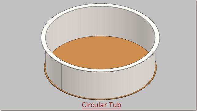 Circular Tub