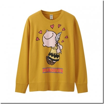 UNIQLO X Peanuts Men Long Sleeve Sweat Shirt 04