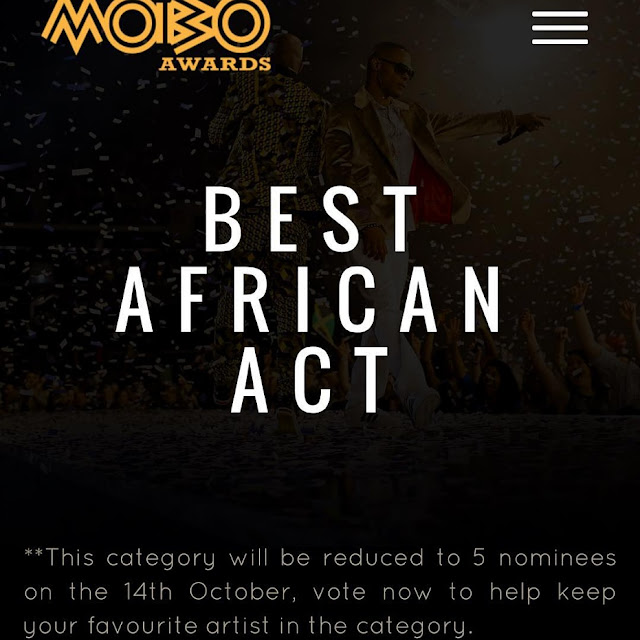 The 2015 MOBO Best African Act Awards