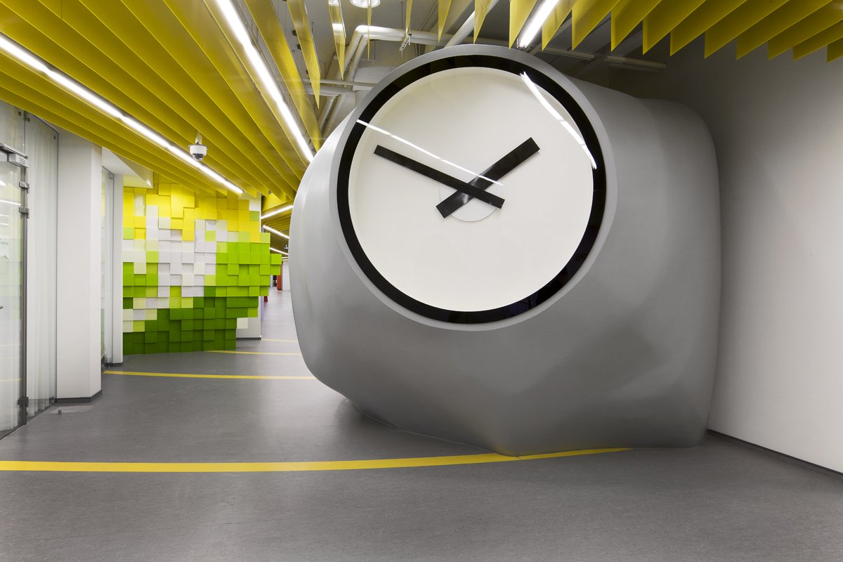 Pulkovo 1 airport, San Pietroburgo, Russia: Yandex Office Ii by Za Bor Architects