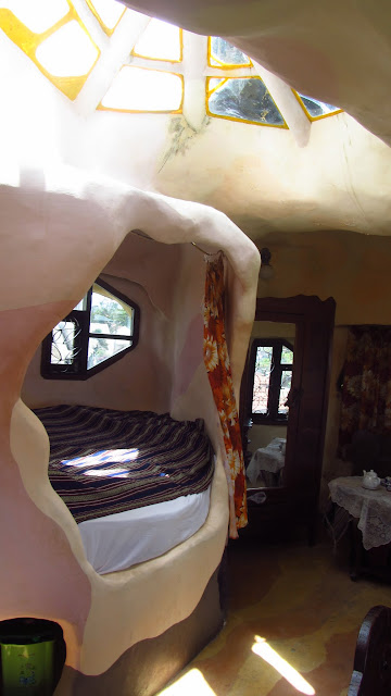 One of the guestrooms.