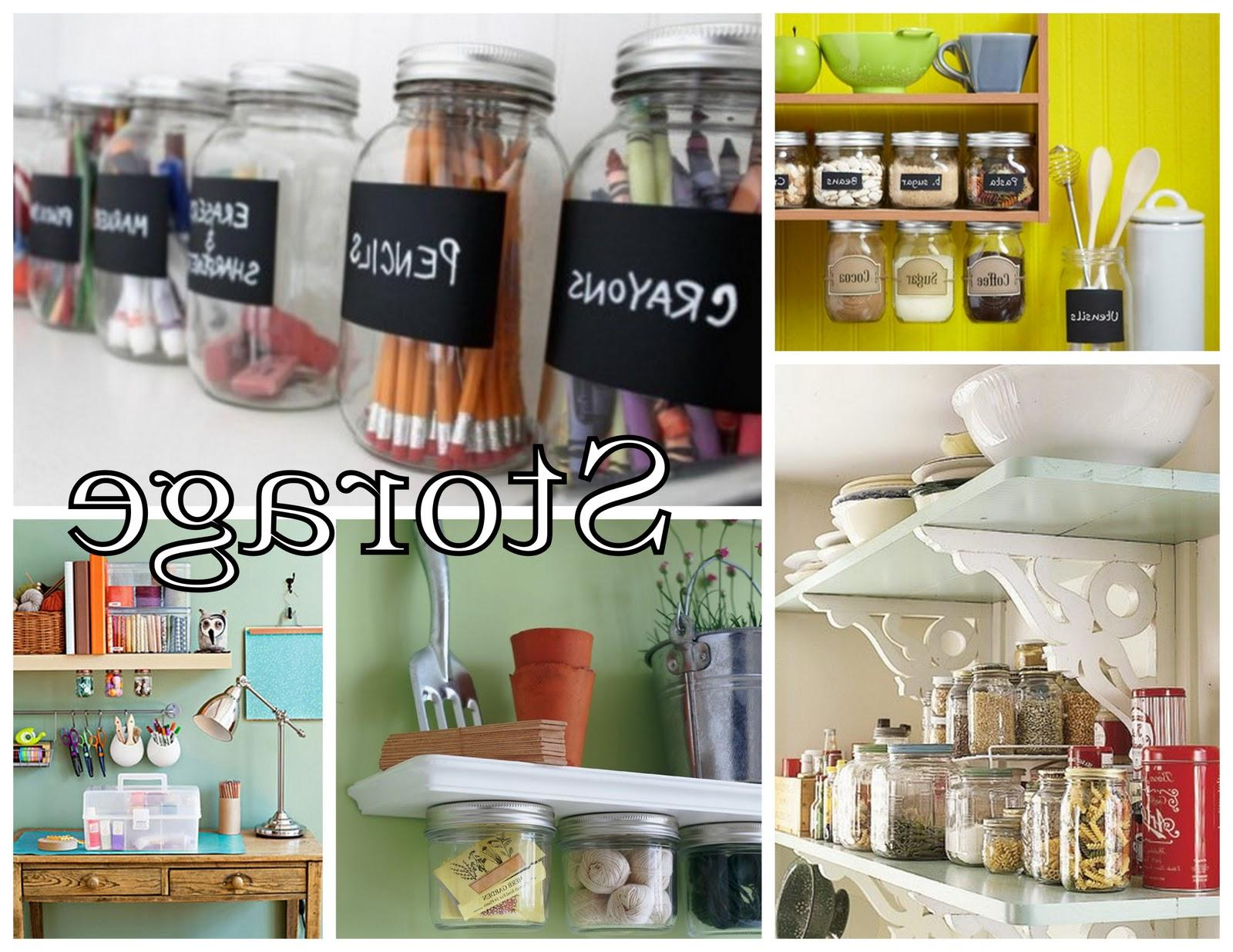 And finally: Mason Jar STORAGE