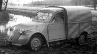 Citroen 1951 2 CV fourgonnette