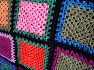 how to make a large afghan blanket