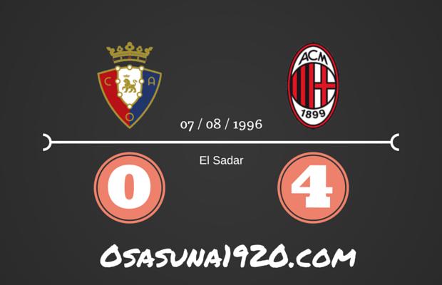 Osasuna 0 - 4 AC Milan