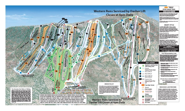Top Seven Places To Ski In Wisconsin Paradisenearth