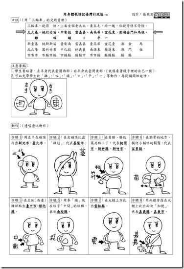 用身體歌謠記台灣行政區3_01
