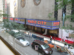 Radio City Music Hall from the Top of the Rock entry foyer
