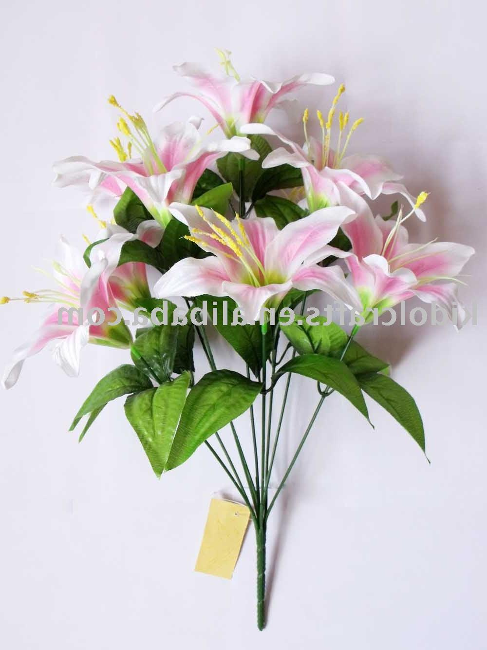 indian silk flowers for
