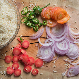 Some Ingredients  by Azeem Shah - Food & Drink Ingredients