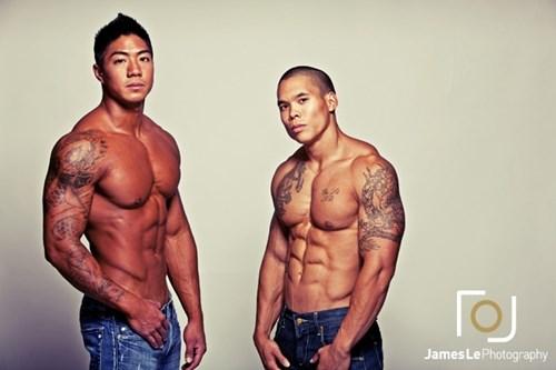 Hai chang Viet kieu co bap gay sot o Thai Lan