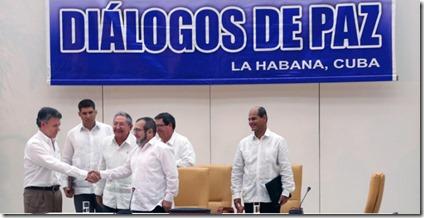Paz en La Habana