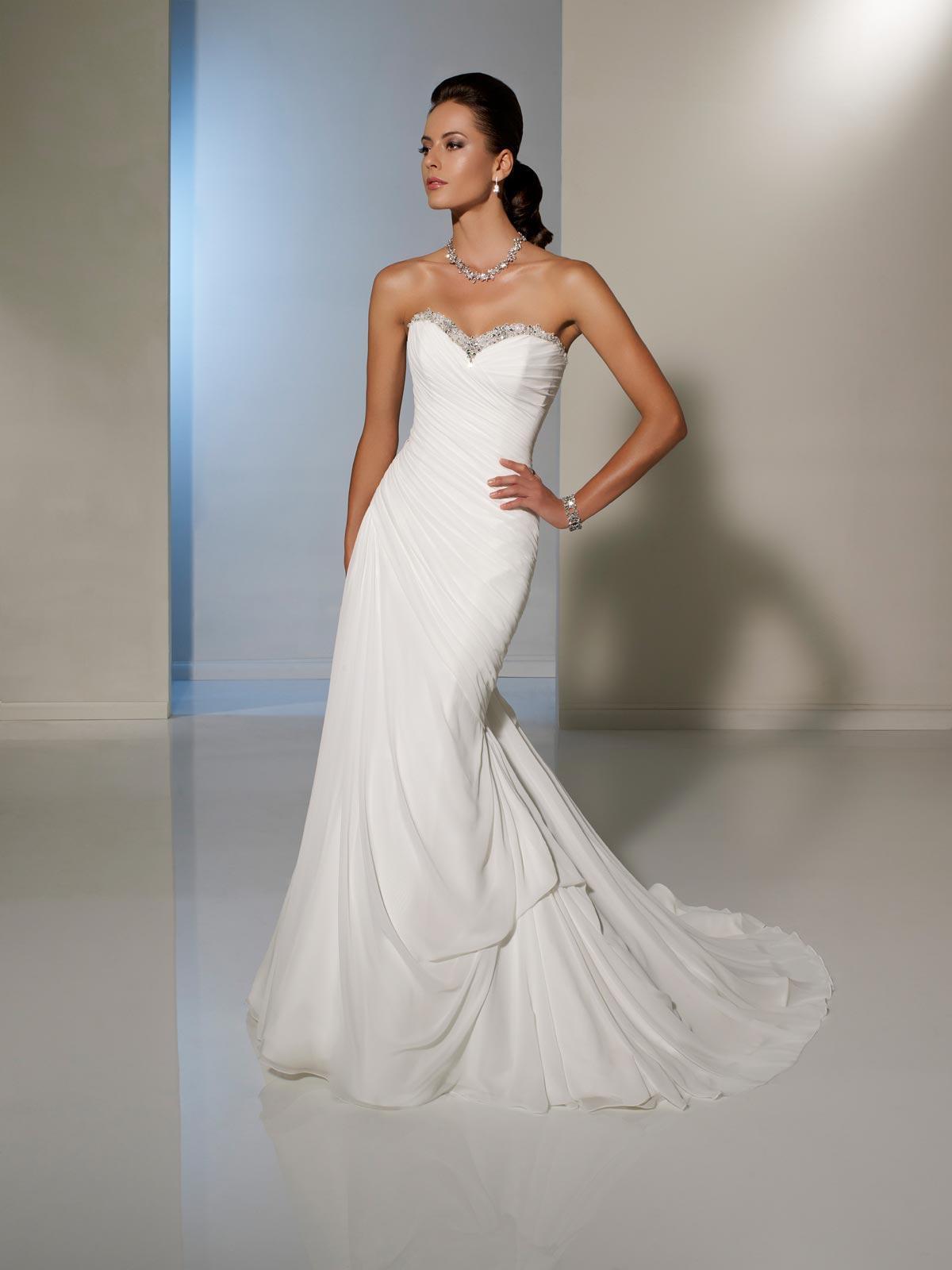 Chic Corset Wedding Gown