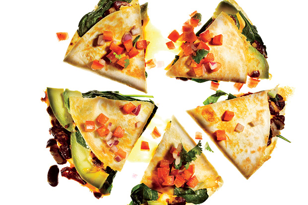 Vegetable Quesadillas with Fresh Salsa Recipe | Yummly