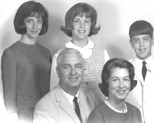 Barbara Ann Backus Livingston, Nancy Kennon Backus Roniger, Billy Backus, Bill Backus, Martha Kennon Pitzer Backus