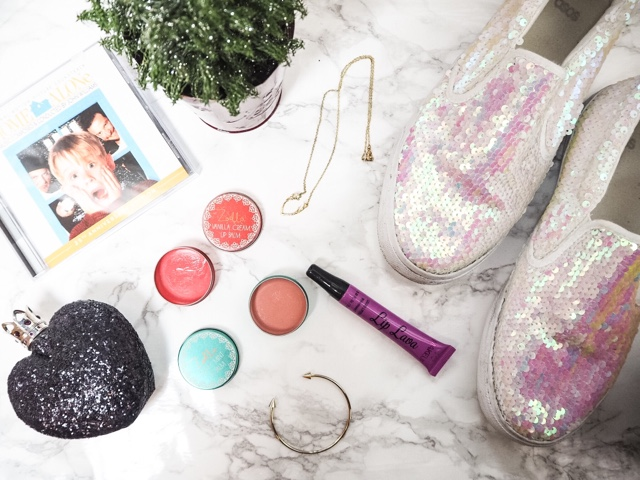 Monthly-favourites-december-asos-sale-zoella-beauty-lipgloss-home-alone-soundtrack-i-heart-makeup-lip-lava-shockwave-too-faced-melted-lipstick-vera-wang-night-princess-love-layyanah-gold-jewellery
