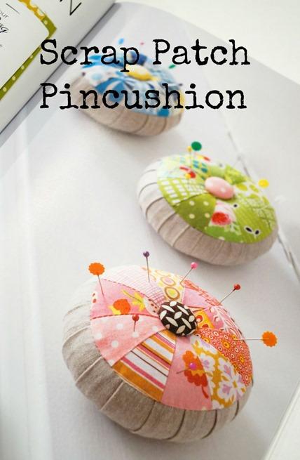 Scrap Happy Sewing - Pincushion