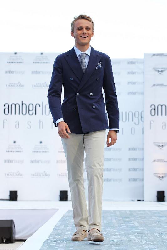 Макс Чилтон на Amber Lounge Fashion Show на Гран-при Монако 2013