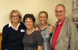Oct. 18: Bernadette Pilchman, Grace Johnson, Deb Wyman, Frank Wyman