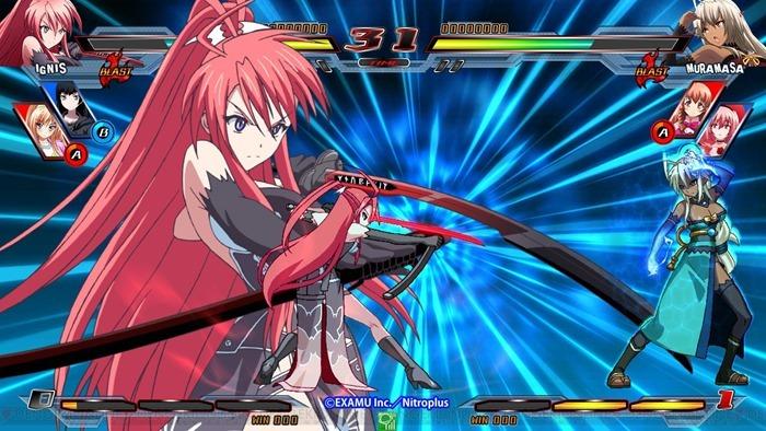 Nitroplus Blasterz Heroines Infinite Duel 02