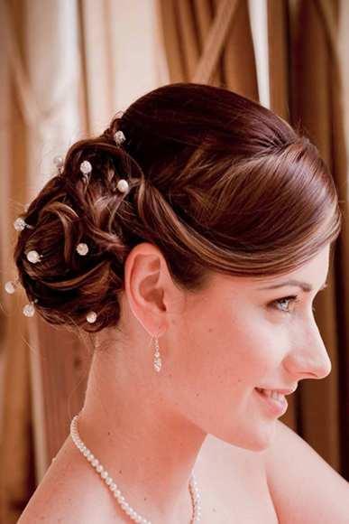 Recogido alto con bucles de novias o invitadas pedido , Peinados De Boda Recogidos Paso A