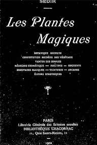 Cover of Paul Sedir's Book Les Plantes Magiques (1902,in French)