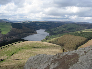 Ladybower from Whinstone Lee Tor