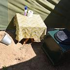 Camp Zambezi, Buschtoilette © Foto: Ulrike Pârvu | Outback Africa Erlebnisreisen