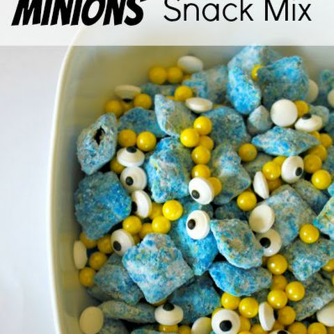 Minion Snack Mix Recipe - Perfect for a Minion Party