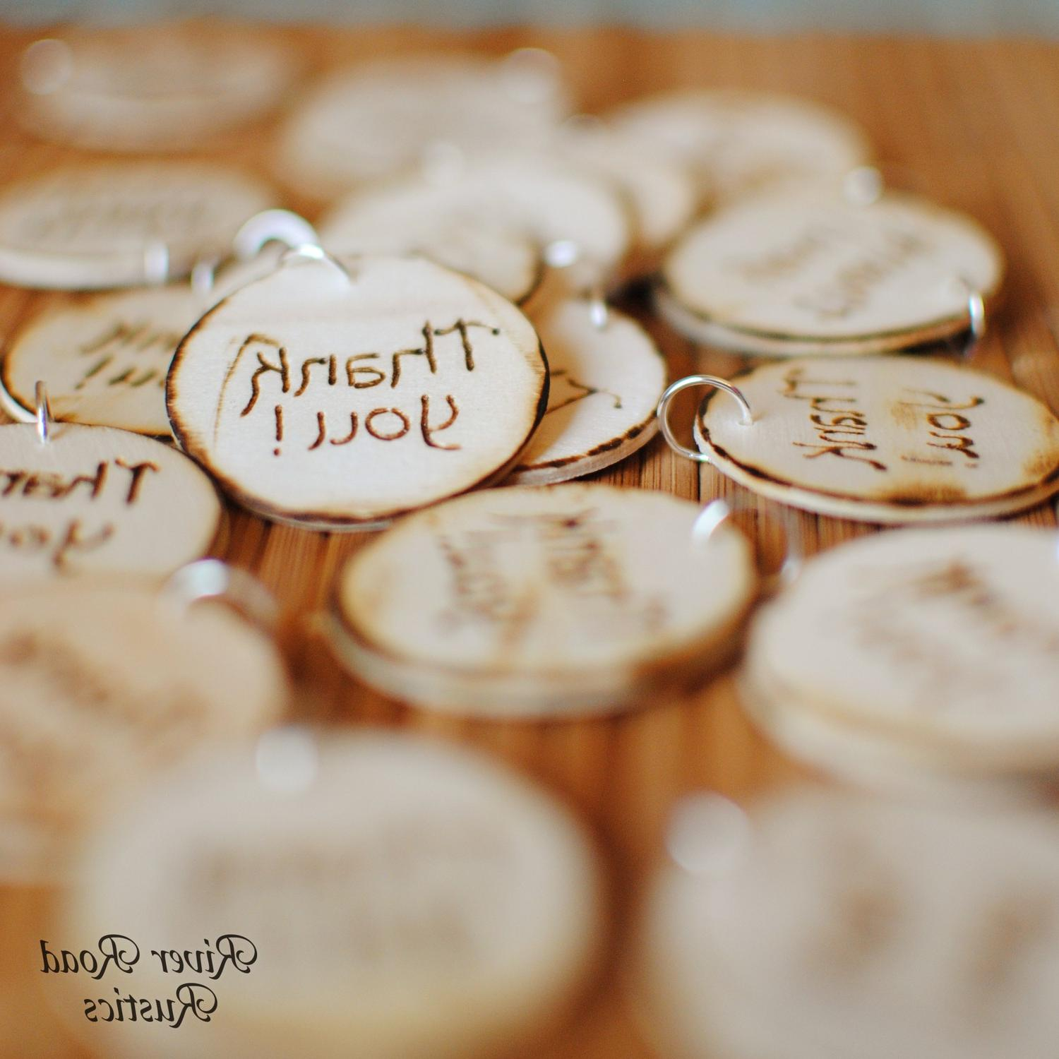 Wedding Favor -Thank You-