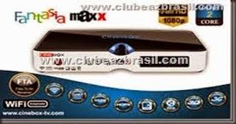 CINEBOX FANTASIA MAXX HD DUAL CORE 3 TURNERS