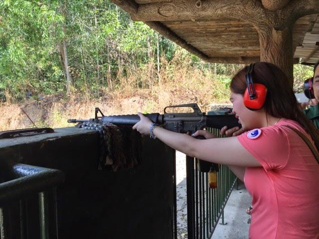 Vietnam Gun Shooting