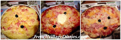 French Village Diaries pizza night