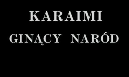 Karaimi. Gin±cy naród (1994) PL.TVRip.XviD /  PL