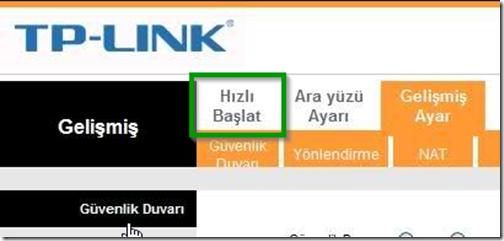 tp-link-modem-arayüz