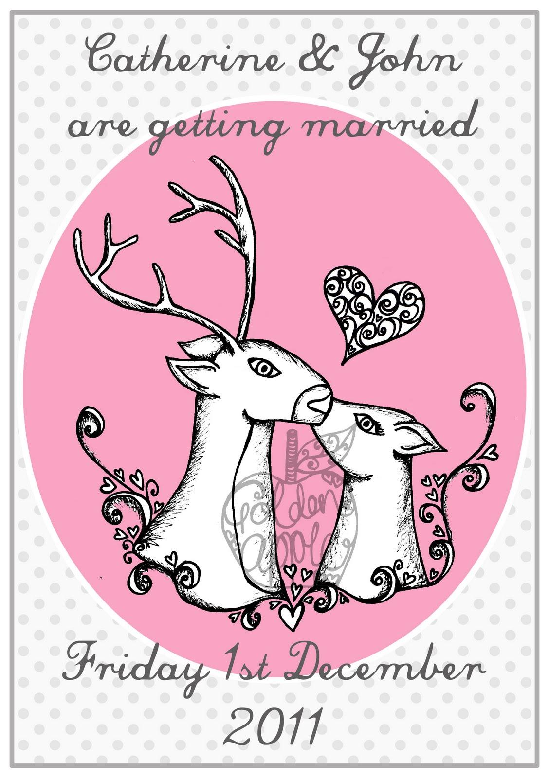 Oh Deer Wedding Invitation