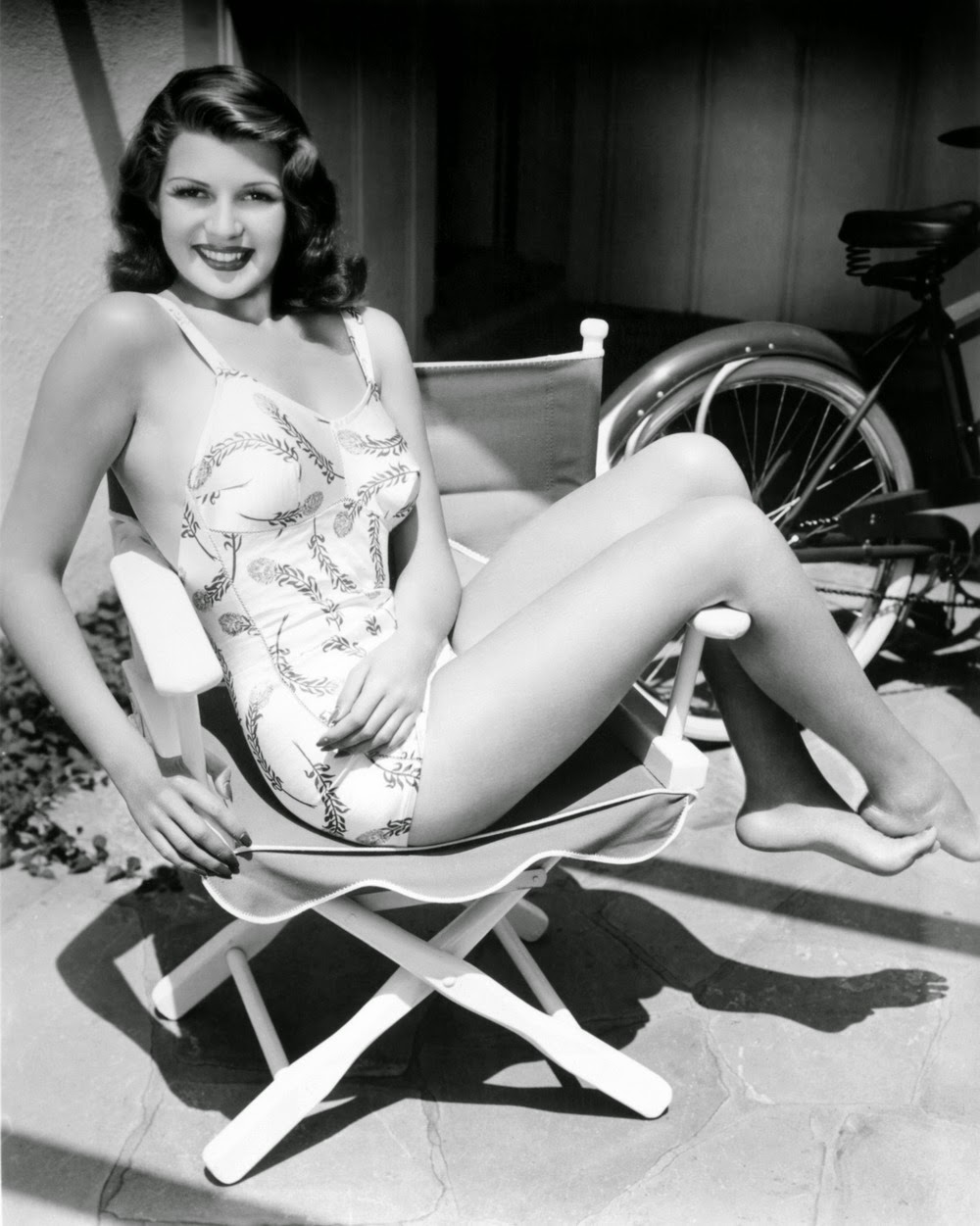 Rita hayworth naked porn boobs