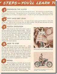 How to Ride a Motorcycle 3