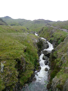 The beck running into Stickle Tarn